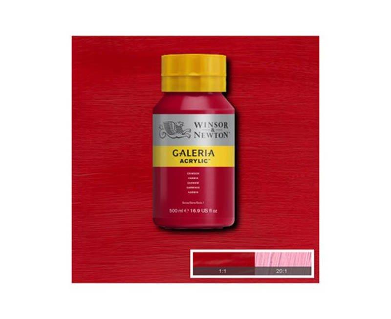 Galeria acryl 500 ml crimson