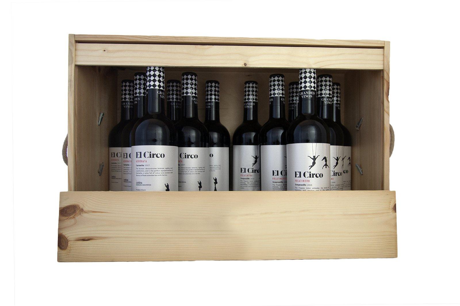 Laudrup Vin Spanske vine til juleaften, 12 fl.