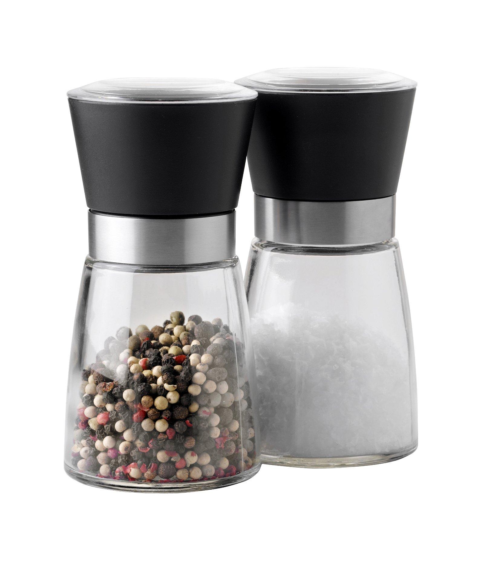 Steel-function salt - og peberkværnsæt