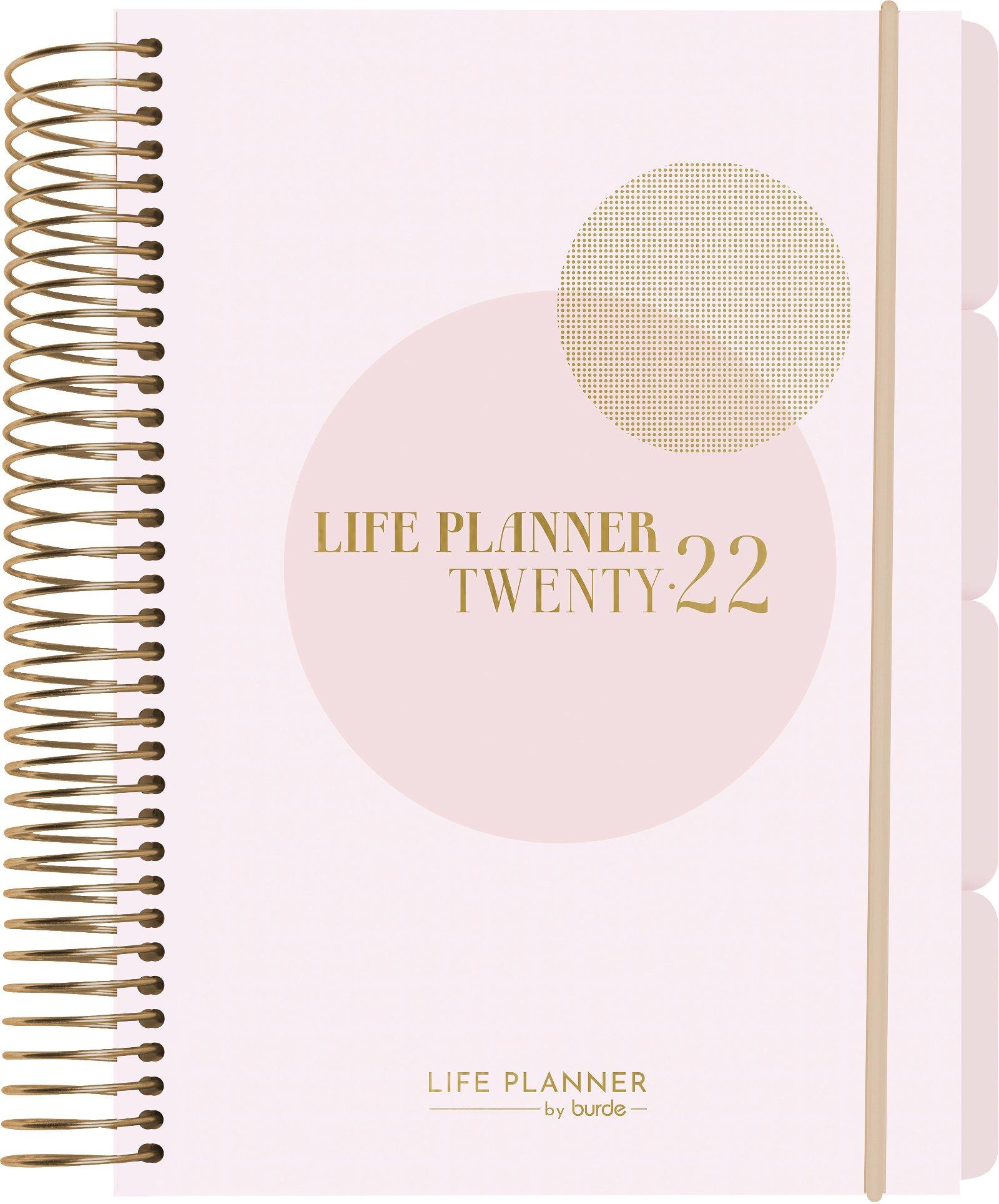 Burde Life Planner Pink 1 dag 2022