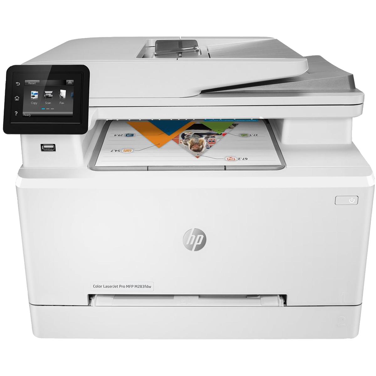 HP Color LaserJet Pro MFP M283fdw multifunktionsprinter