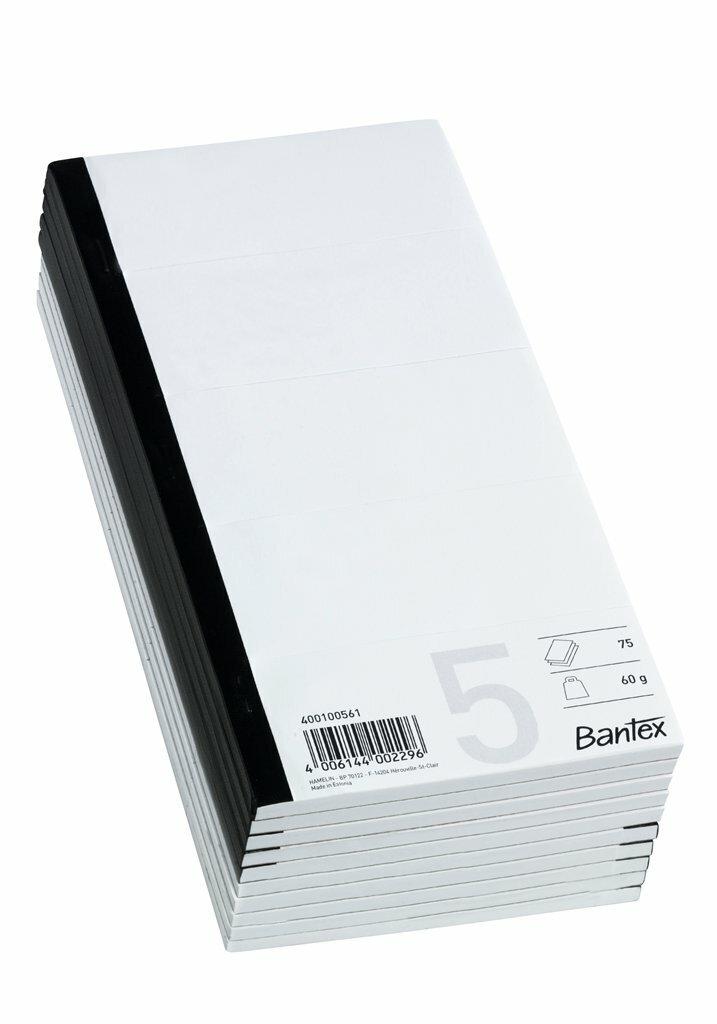 Blok 5-delt 245x120 mm ulin. 60 g 75 blade (10)