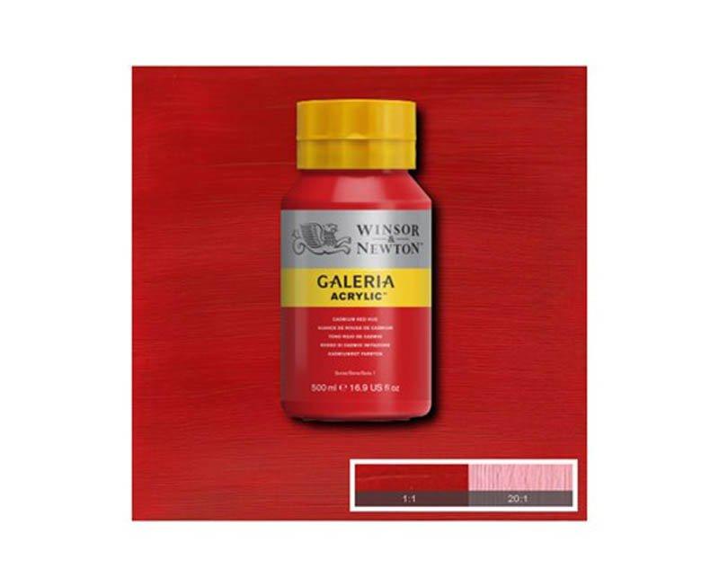 Galeria acryl 500 ml cadmium red hue