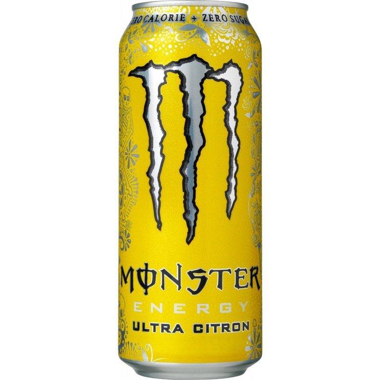 Monster Energy Ultra Citron energidrik