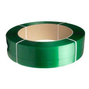 Polyester strapping-præget Grøn