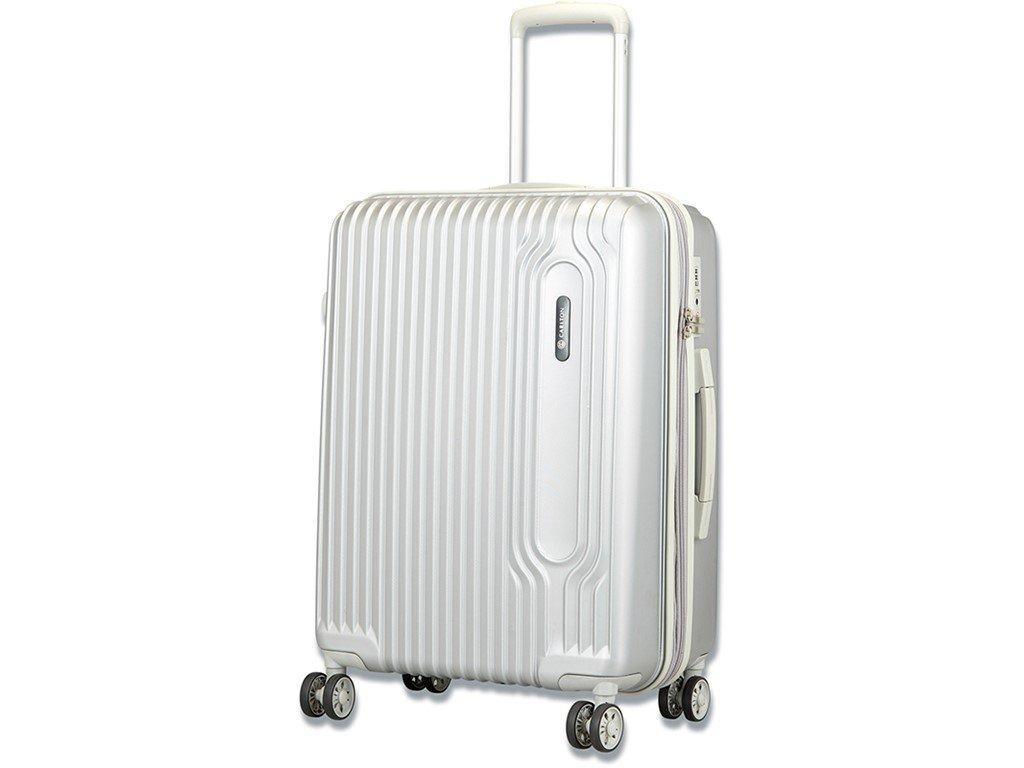 Kuffert Carlton Tube hardcase 65 cm sølv