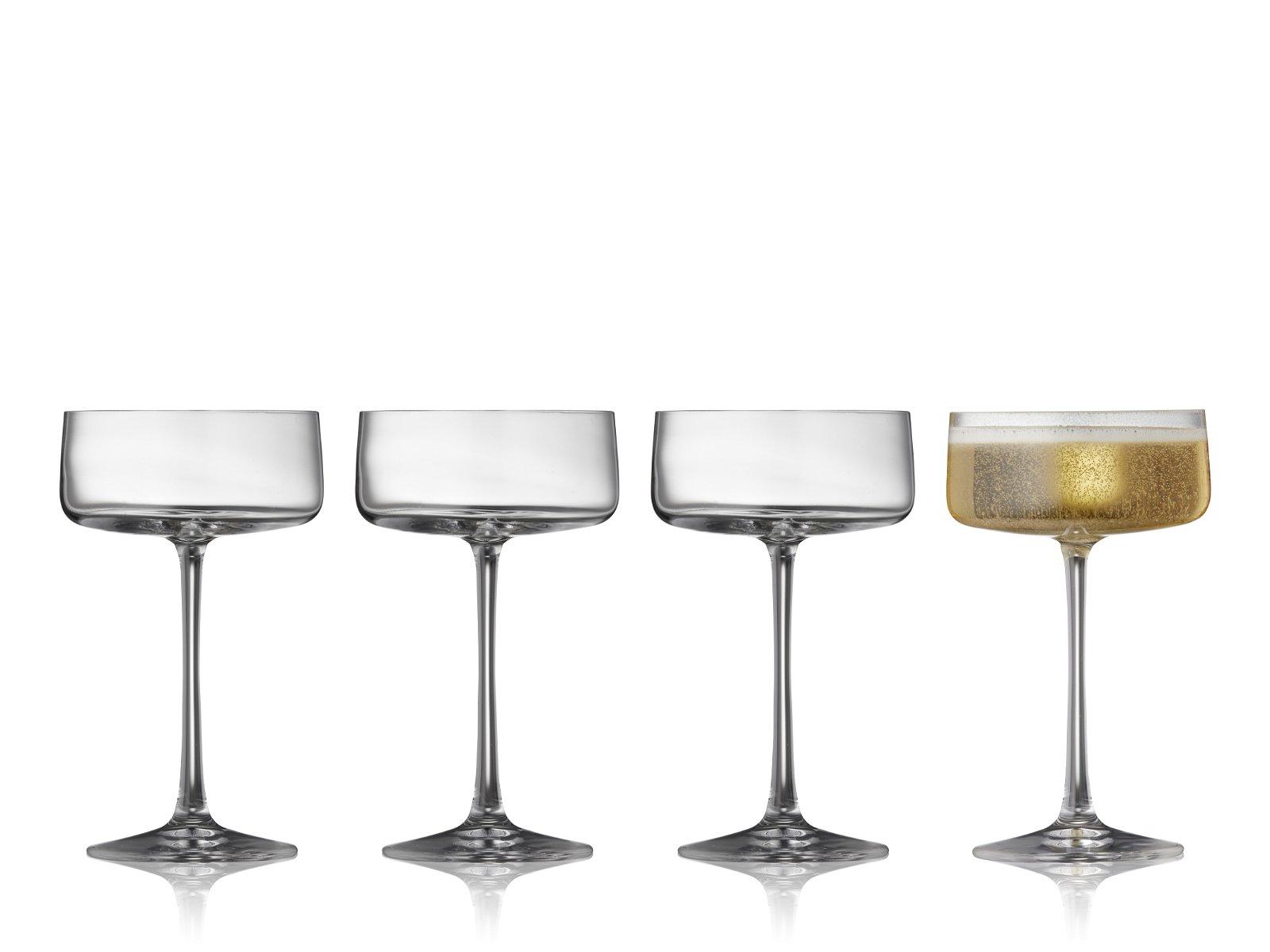 Lyngby Zero champagneskål