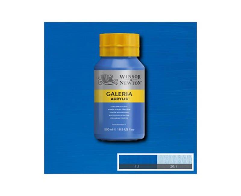 Galeria acryl 500 ml cerulean blue hue