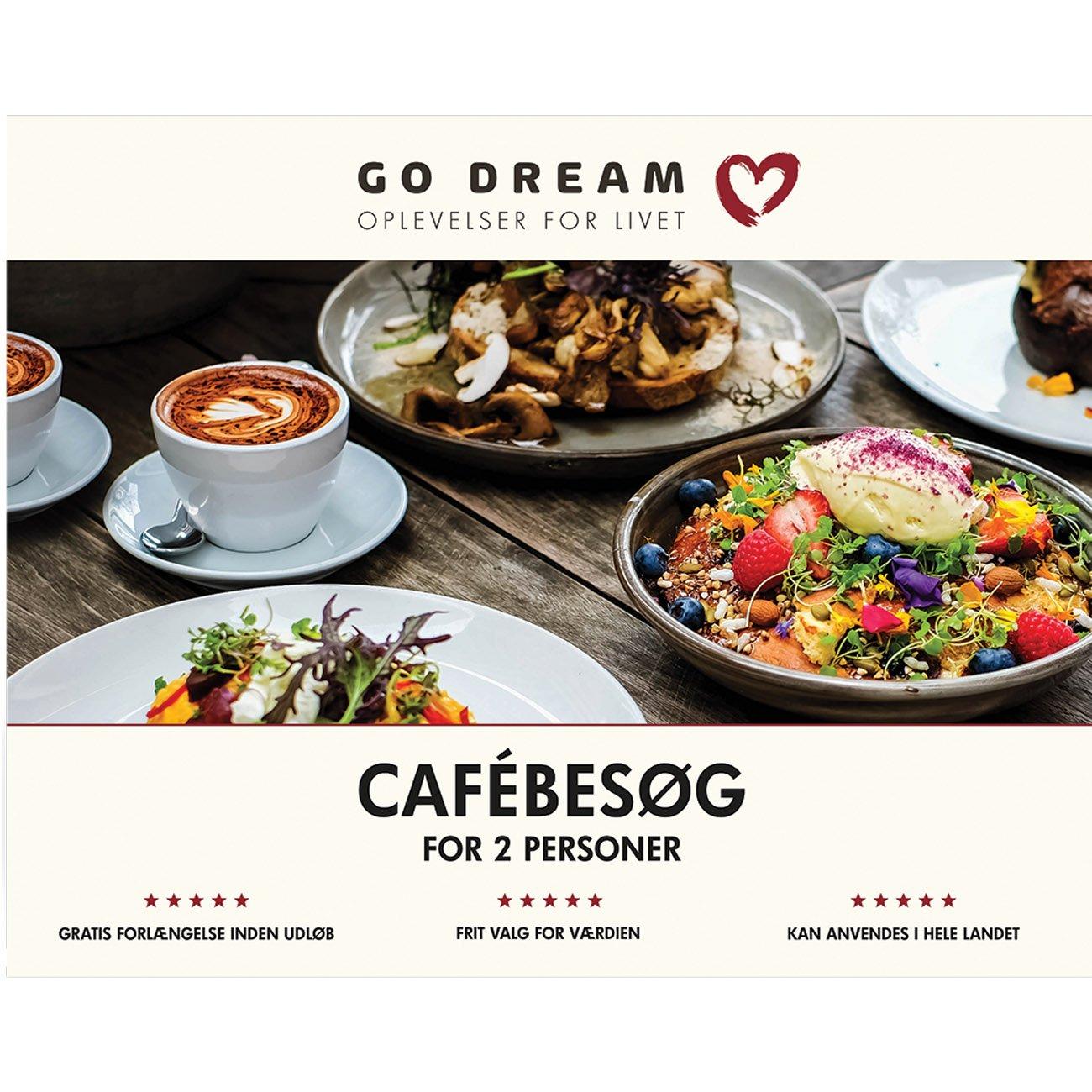 Go Dream Cafébesøg for 2