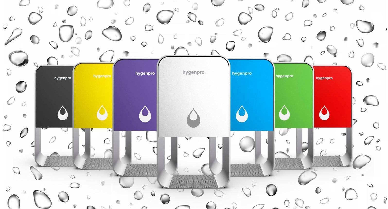 Hygenpro Touch Free dispenser på stander