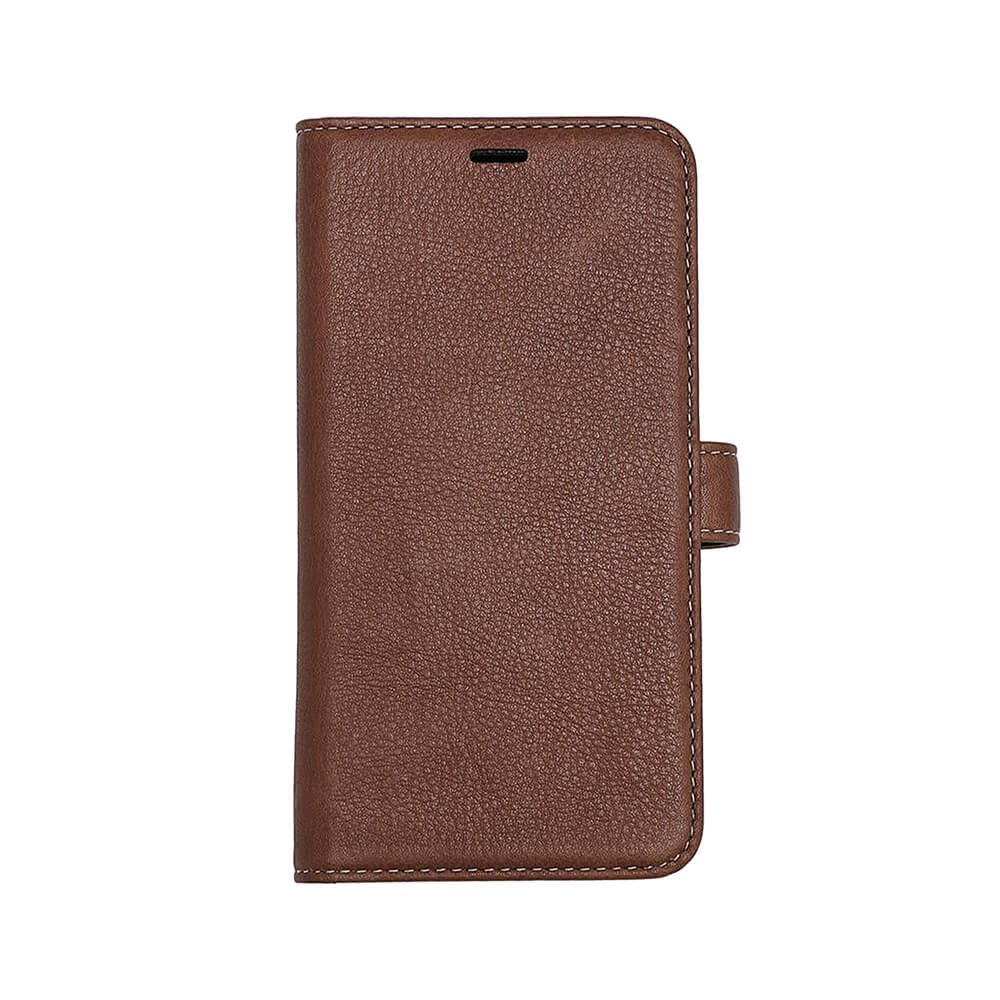 ONSALA COLLECTION Wallet Læder Brun iPhone 11