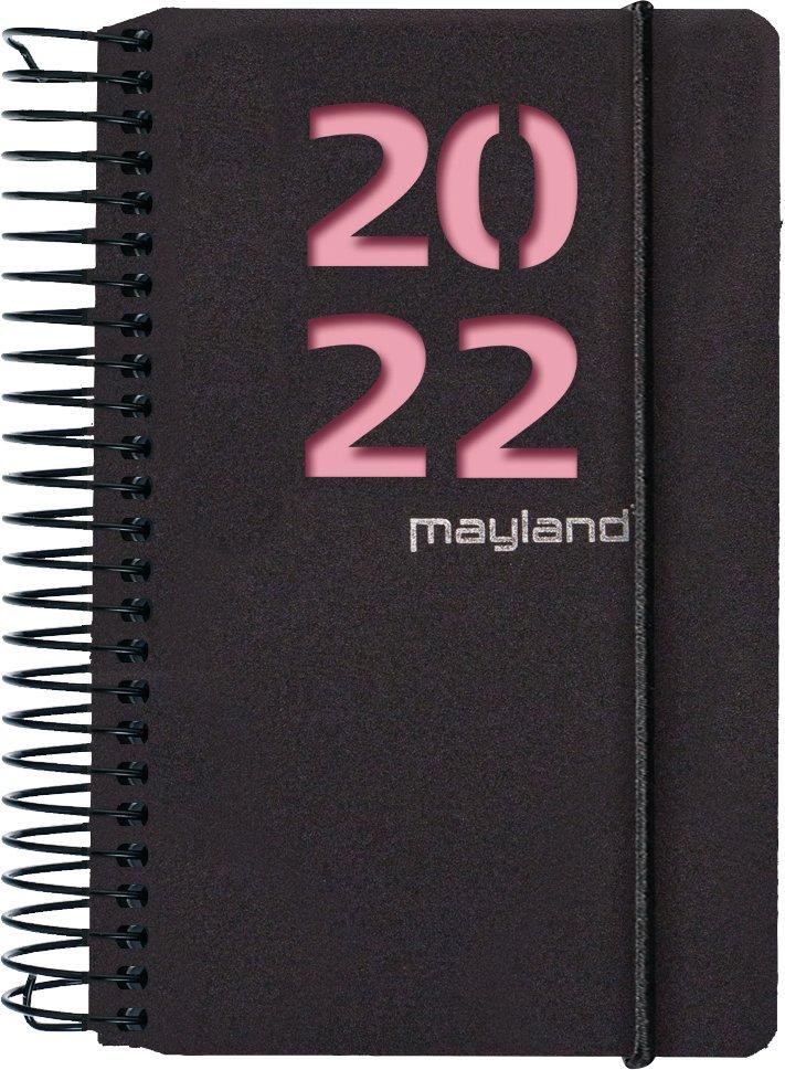 Mayland Minispiralkalender 1-dag m. 2 blade 2022