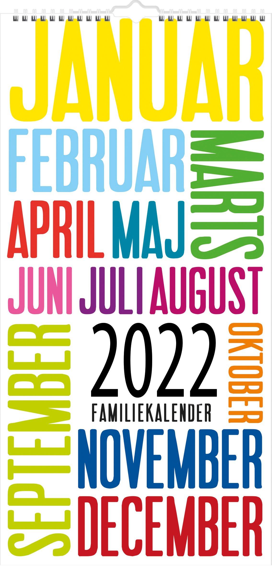 Mayland Familiekalender  TrendArt 2022