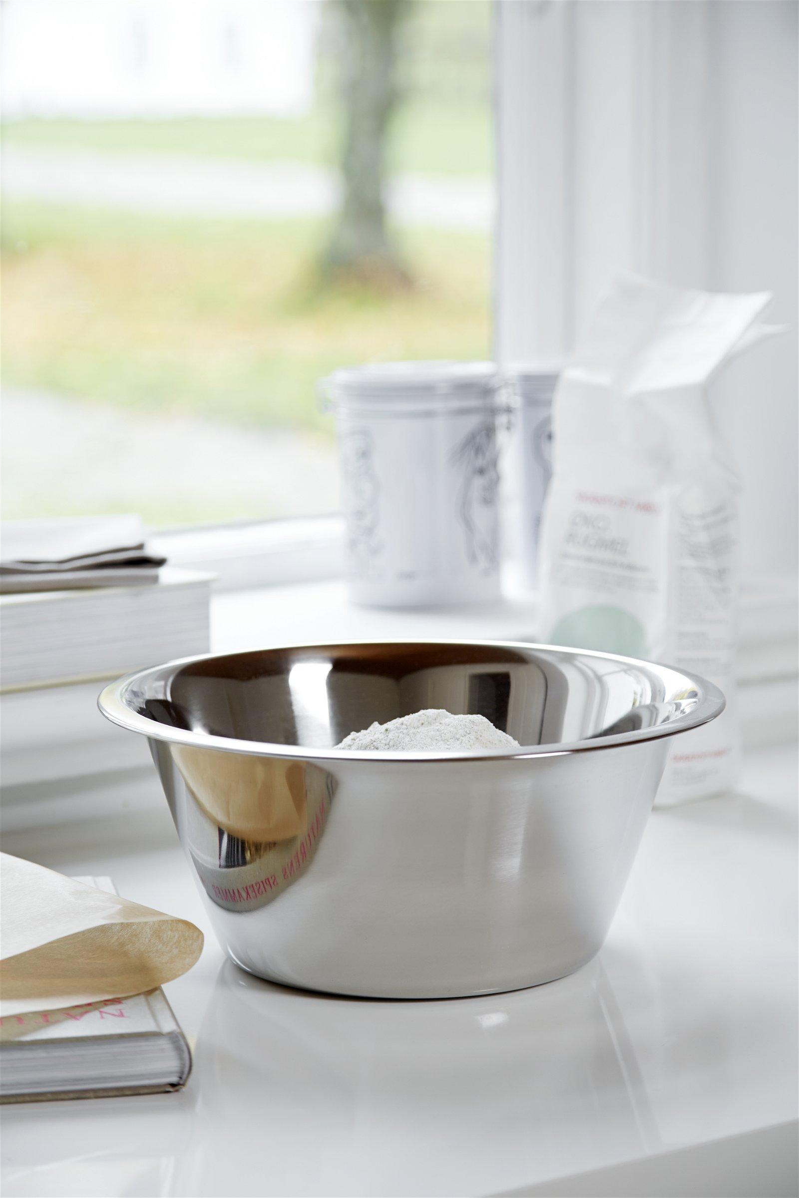 Steel-function køkkenskål