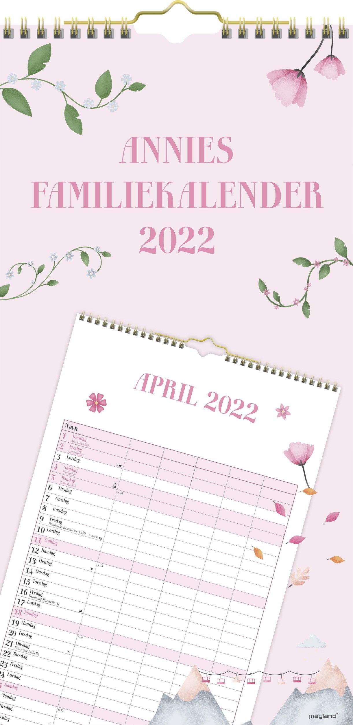 Mayland Annies Familiekalender  2022