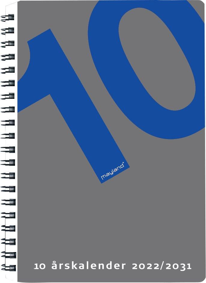 Mayland 10 årskalender 2022