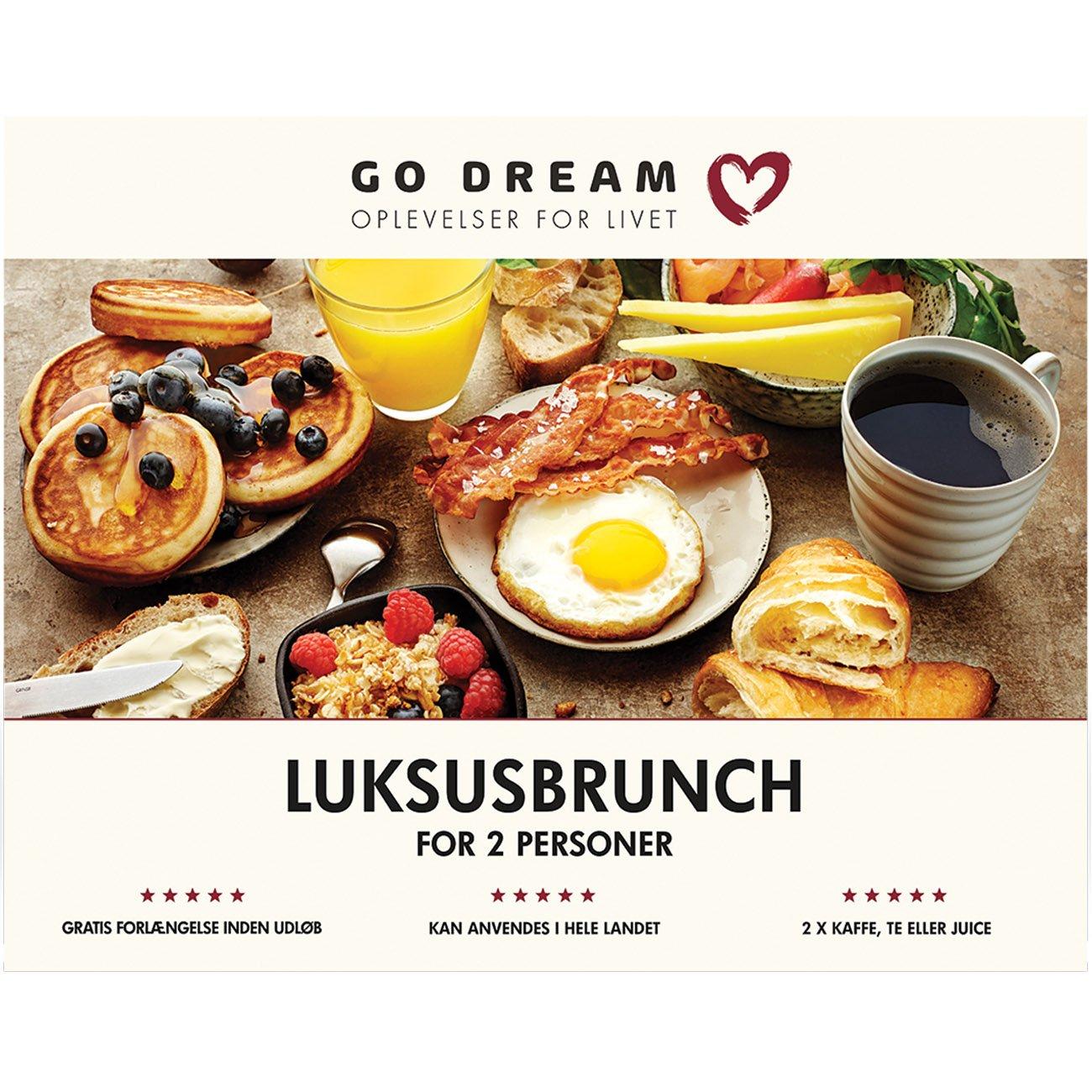 Go Dream - Luksusbrunch for 2