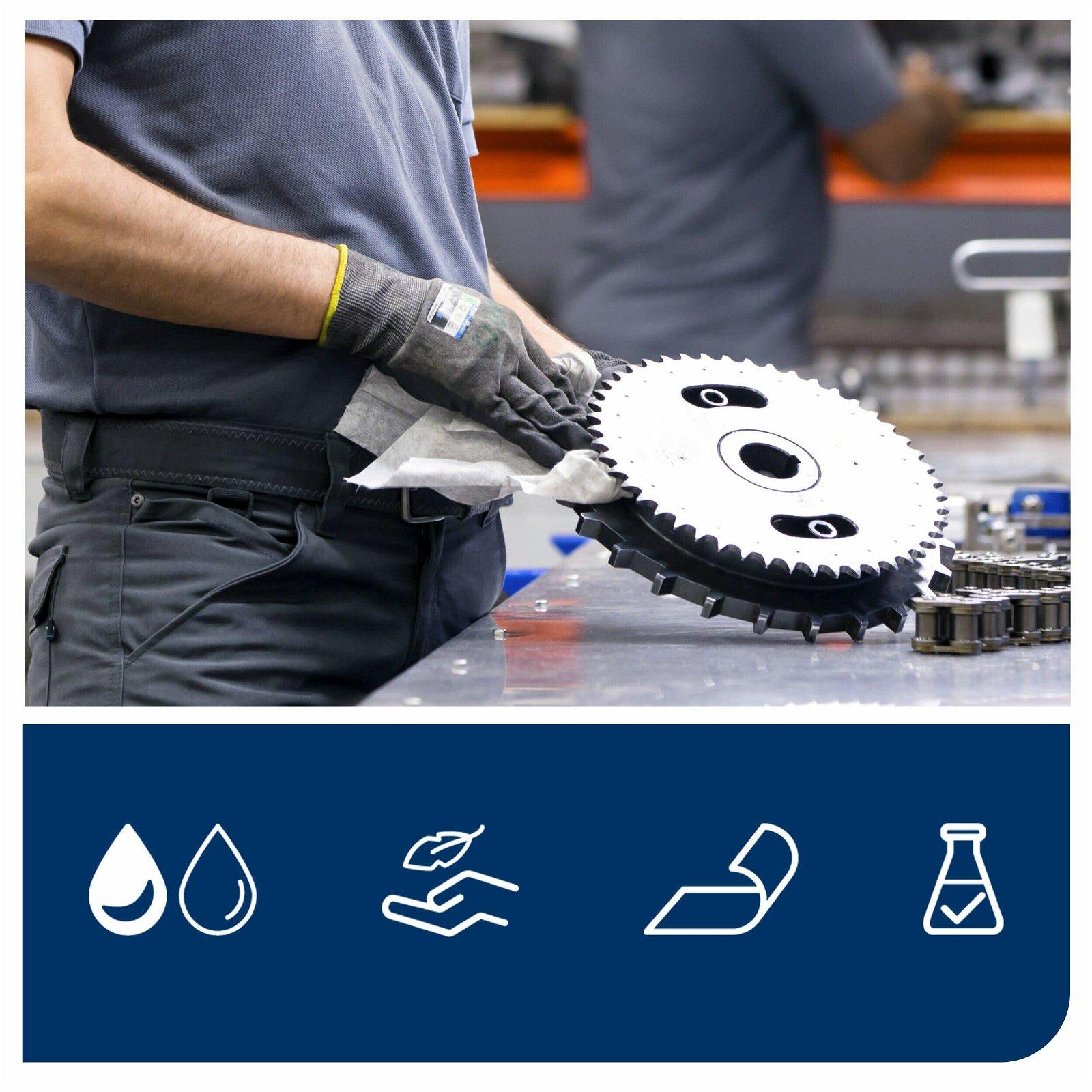 Tork Premium Industri aftørringsklude til krævende opgaver, W7
