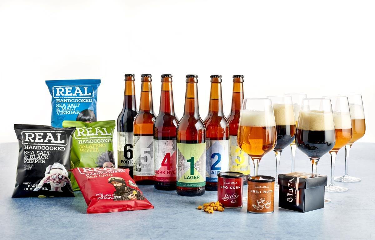 Gavepakker - Øl incl. pant