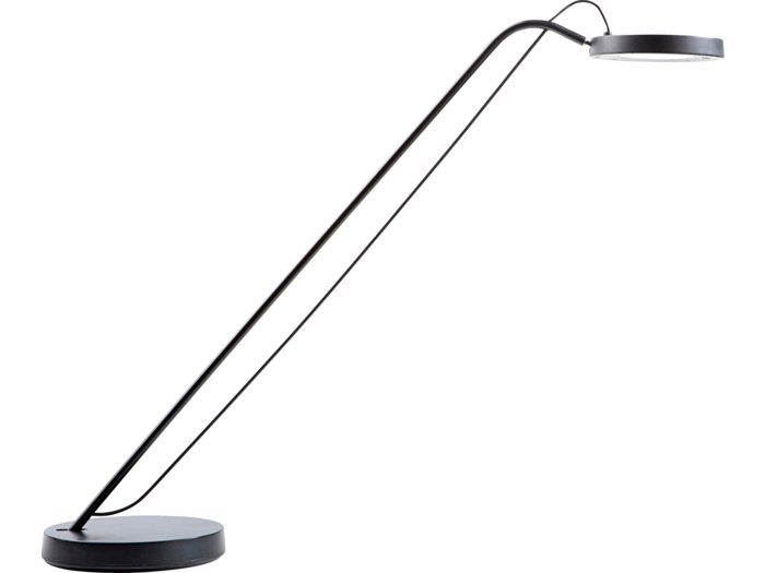 Lampe Unilux Illusio sort 4 LED asymmetrisk lys aluminium