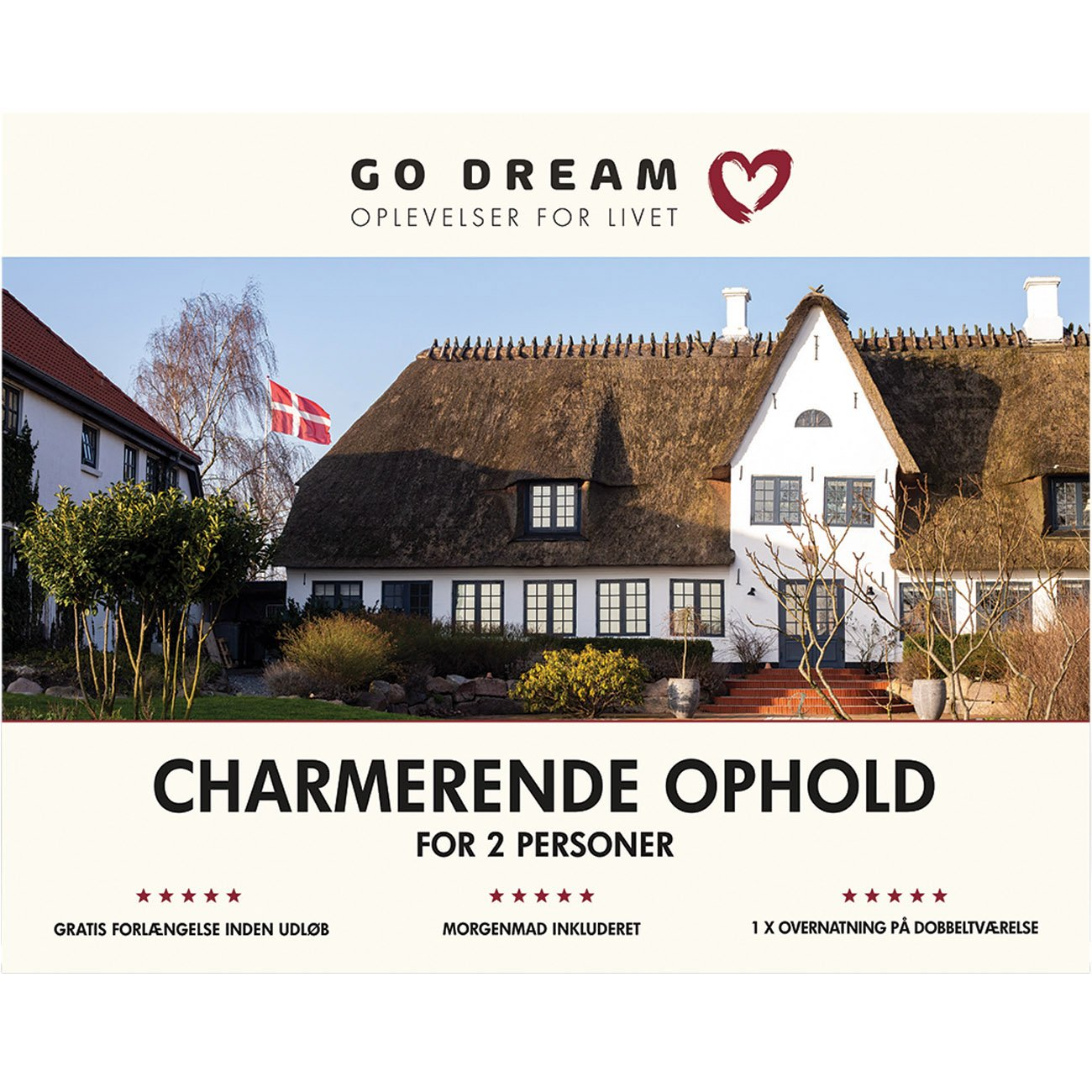 Go Dream Charmerende ophold for 2