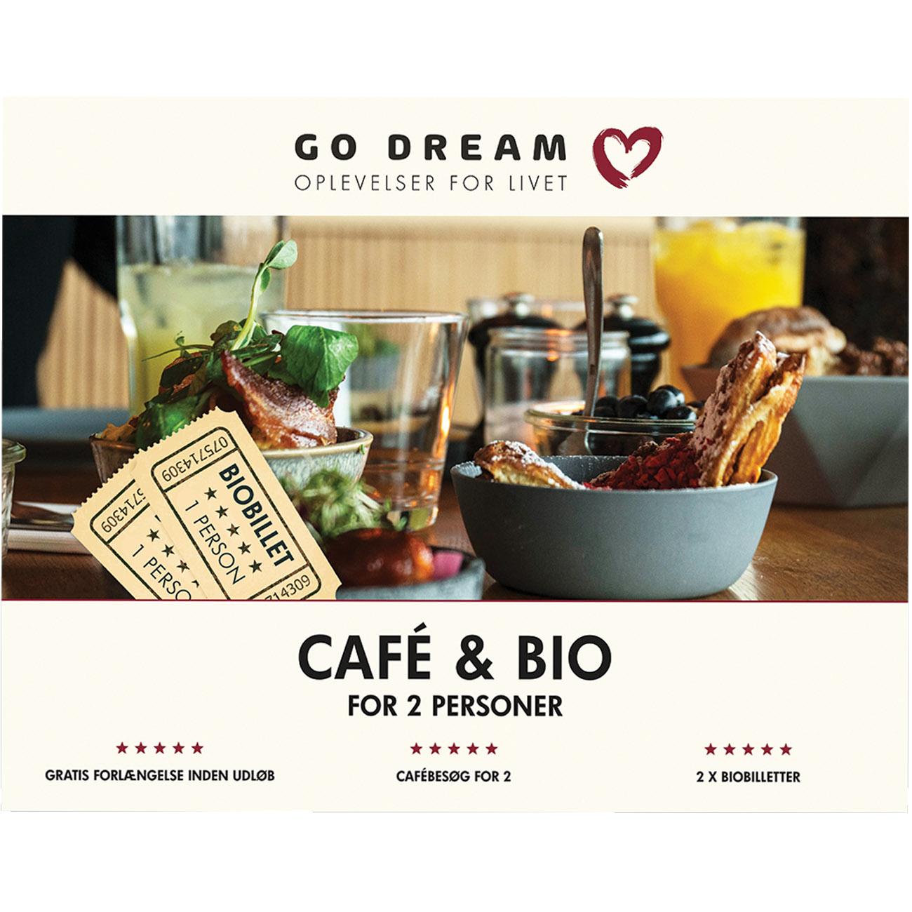 Go Dream Café og bio for 2