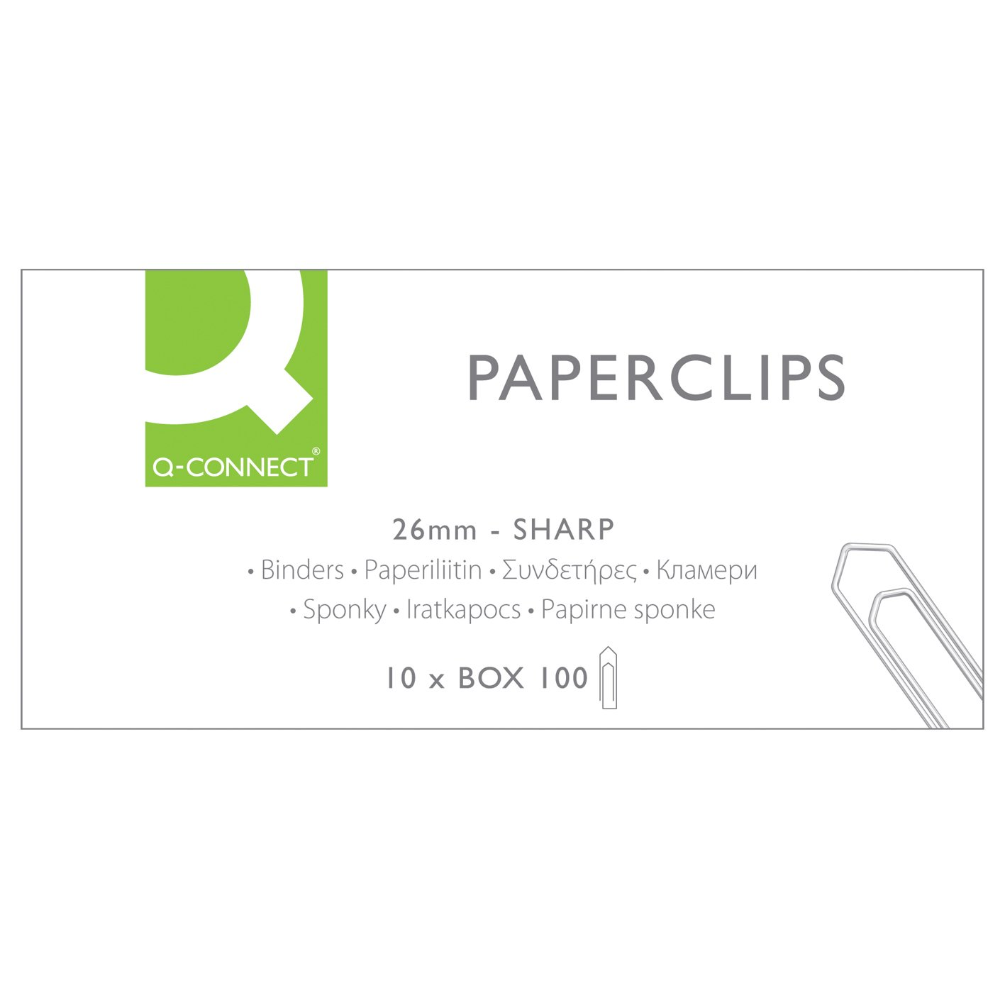 Q-connect clips