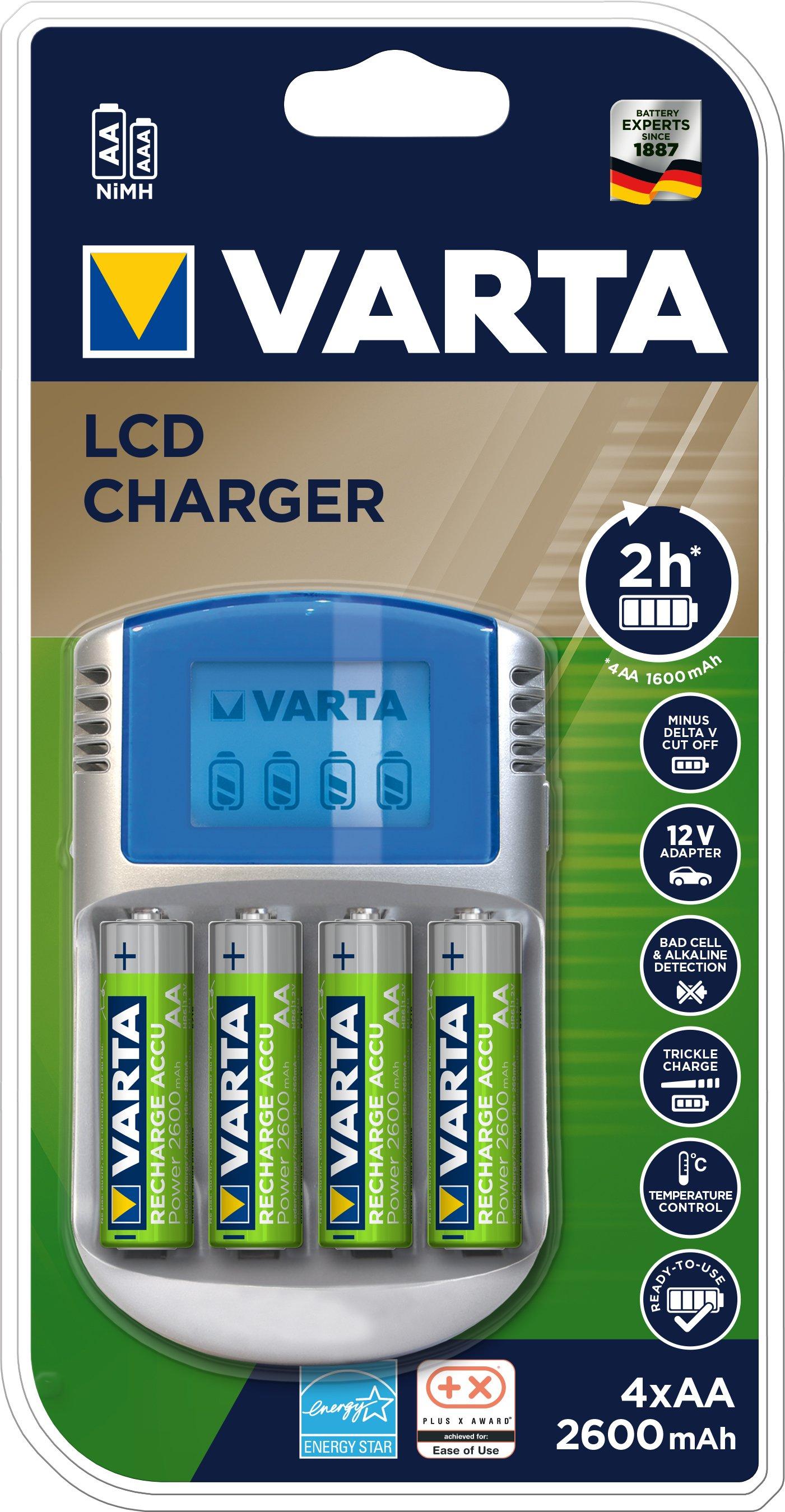 VARTA LCD batterioplader
