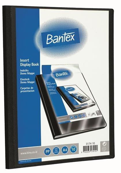 Bantex Demomappe med Indstik – 10 lommer