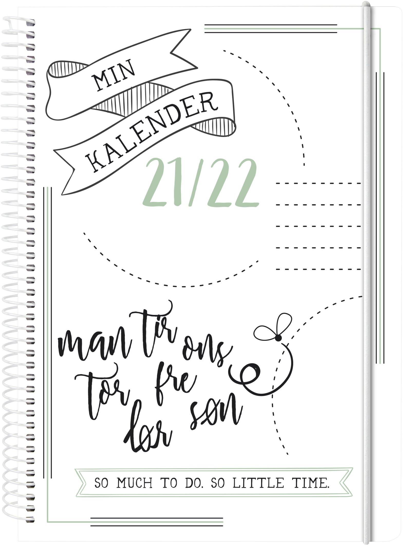 Doodle II A5, studiekalender uge, FSC Mix