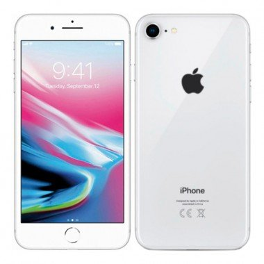 ReUseIT Apple iPhone 8 64GB sølv