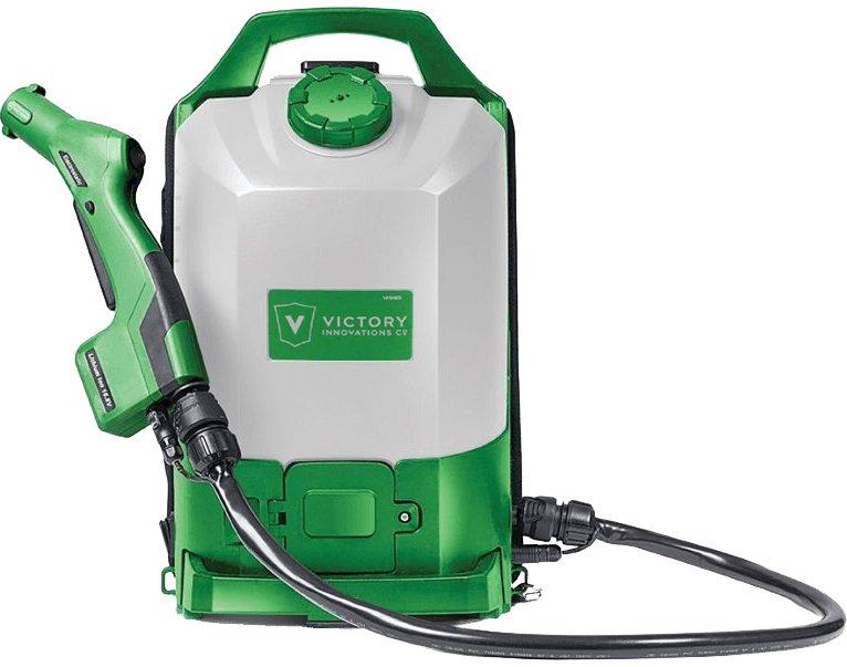 Elektrostatisk backpack sprayer
