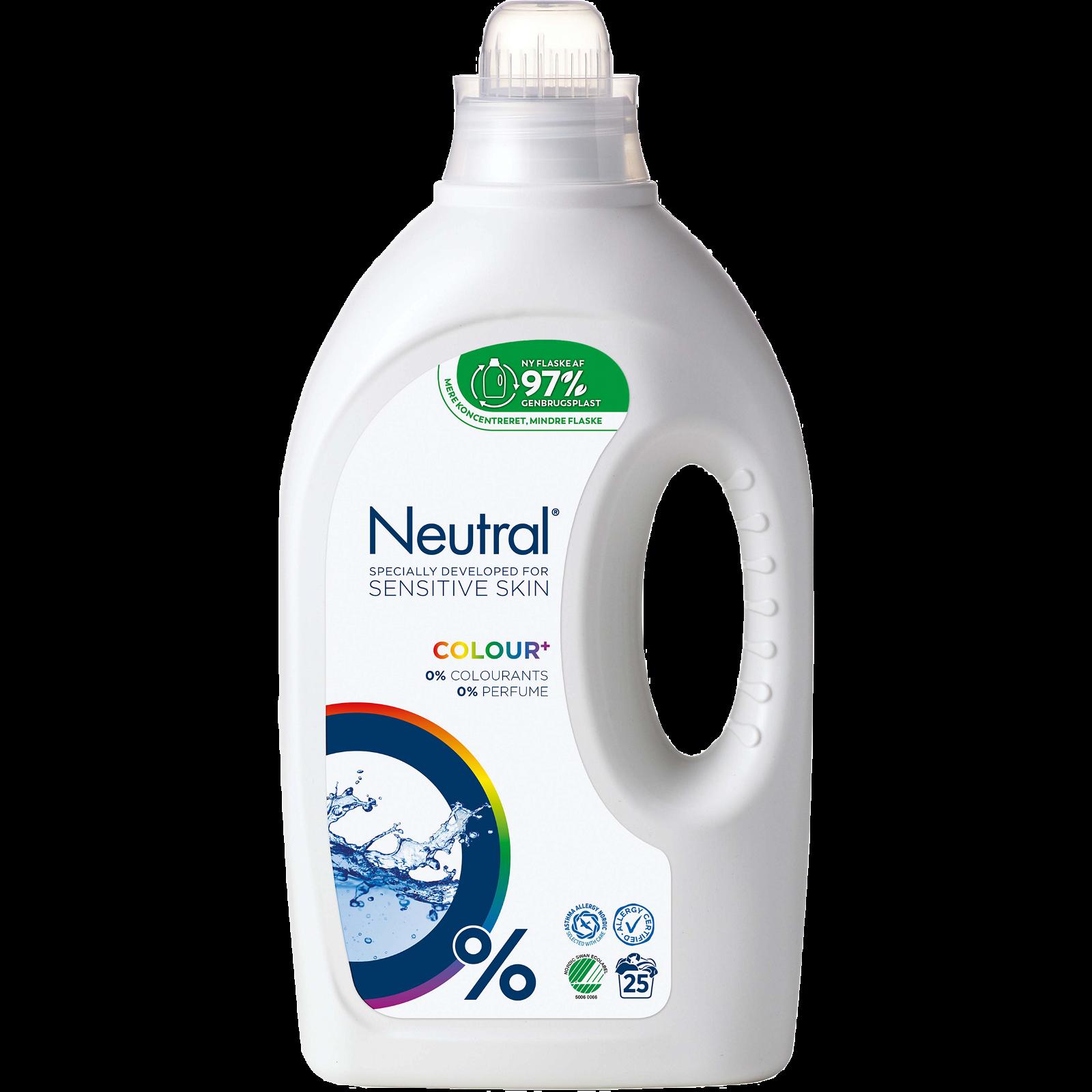 Neutral flydende vaskemiddel