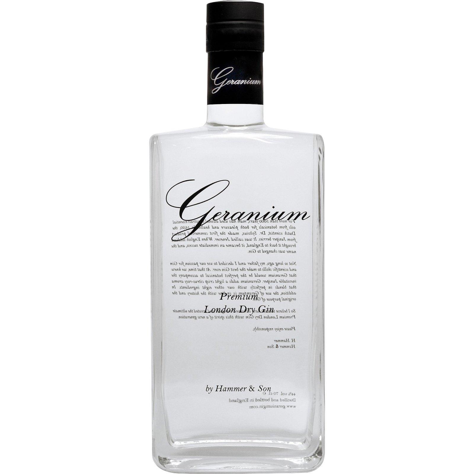 Geranium Premium London Dry Gin 44%