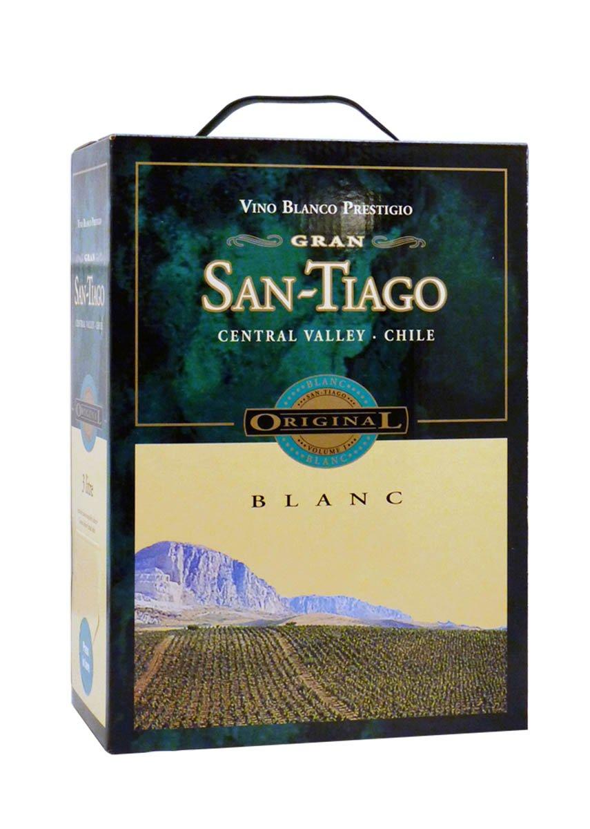 Hvidvin Santiago Blanc 3 Liter