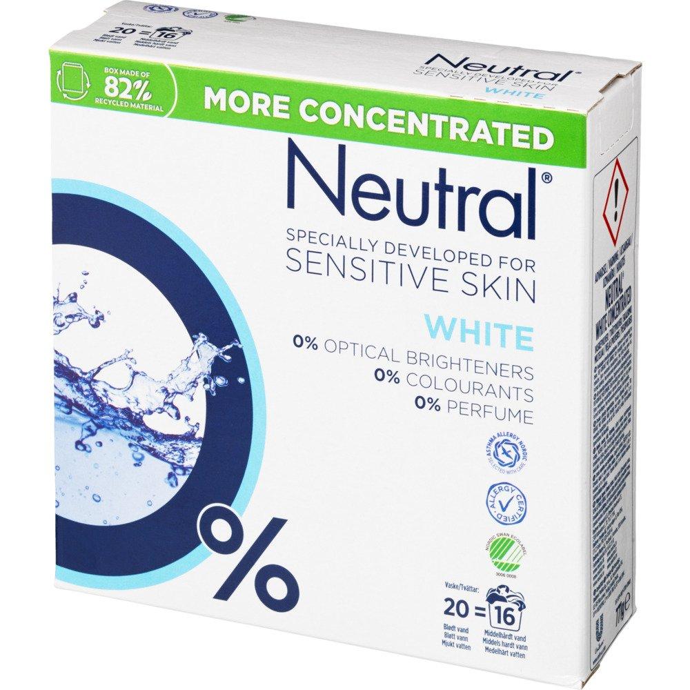 Neutral Vaskepulver, hvid 771 g