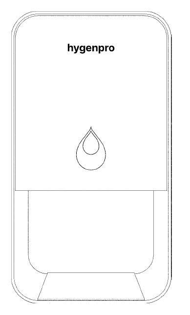 Hygenpro Touch Free dispenser, bordmodel