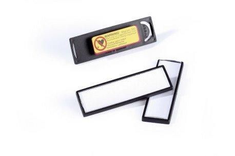 CLIP CARD m magnet 17x67 mm