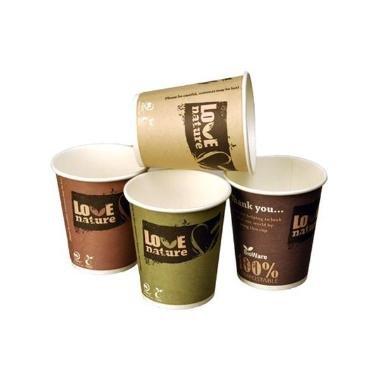 Kaffebæger 40 cl pap bionedbrydelig (50)