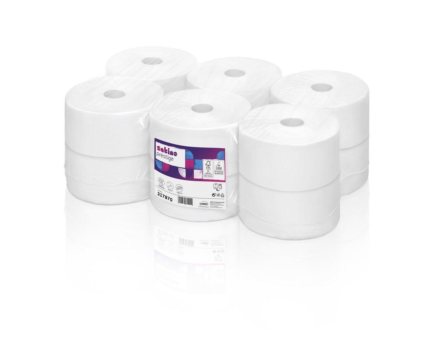 Satino Toiletpapir jumbo 2-lag 120 mtr