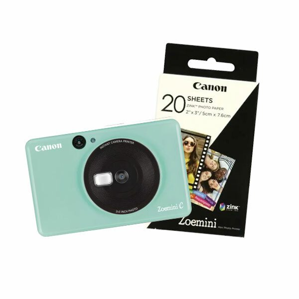 Canon Zoemini C - Mint Green inkl. papir