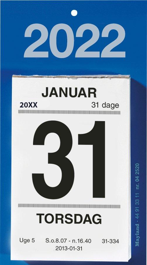 Mayland Afrivningskalender  2022