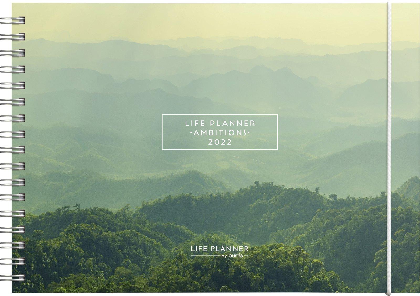 Burde Life Planner Ambitions  2022
