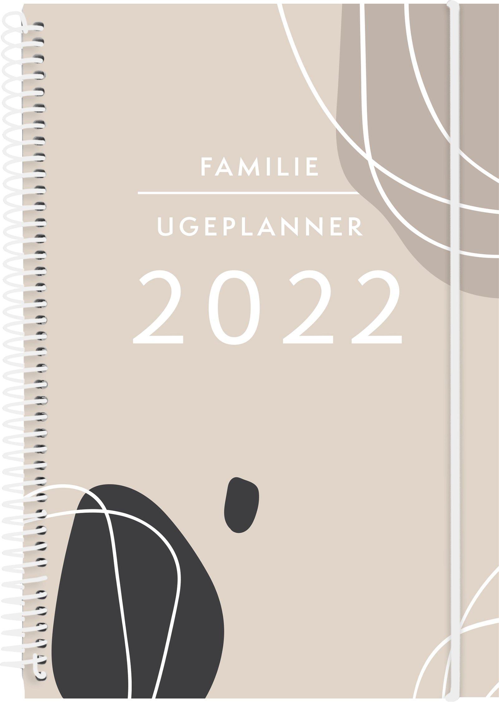 Mayland Familie ugeplanner  2022