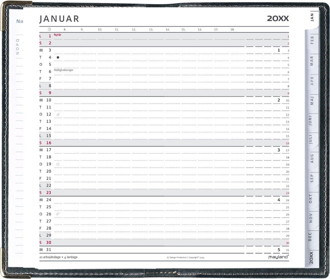 Mayland Index Planner mini REFILL 2022