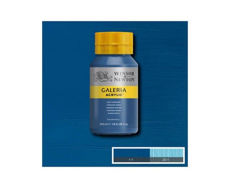 Galeria acryl 500 ml Deep Turquoise