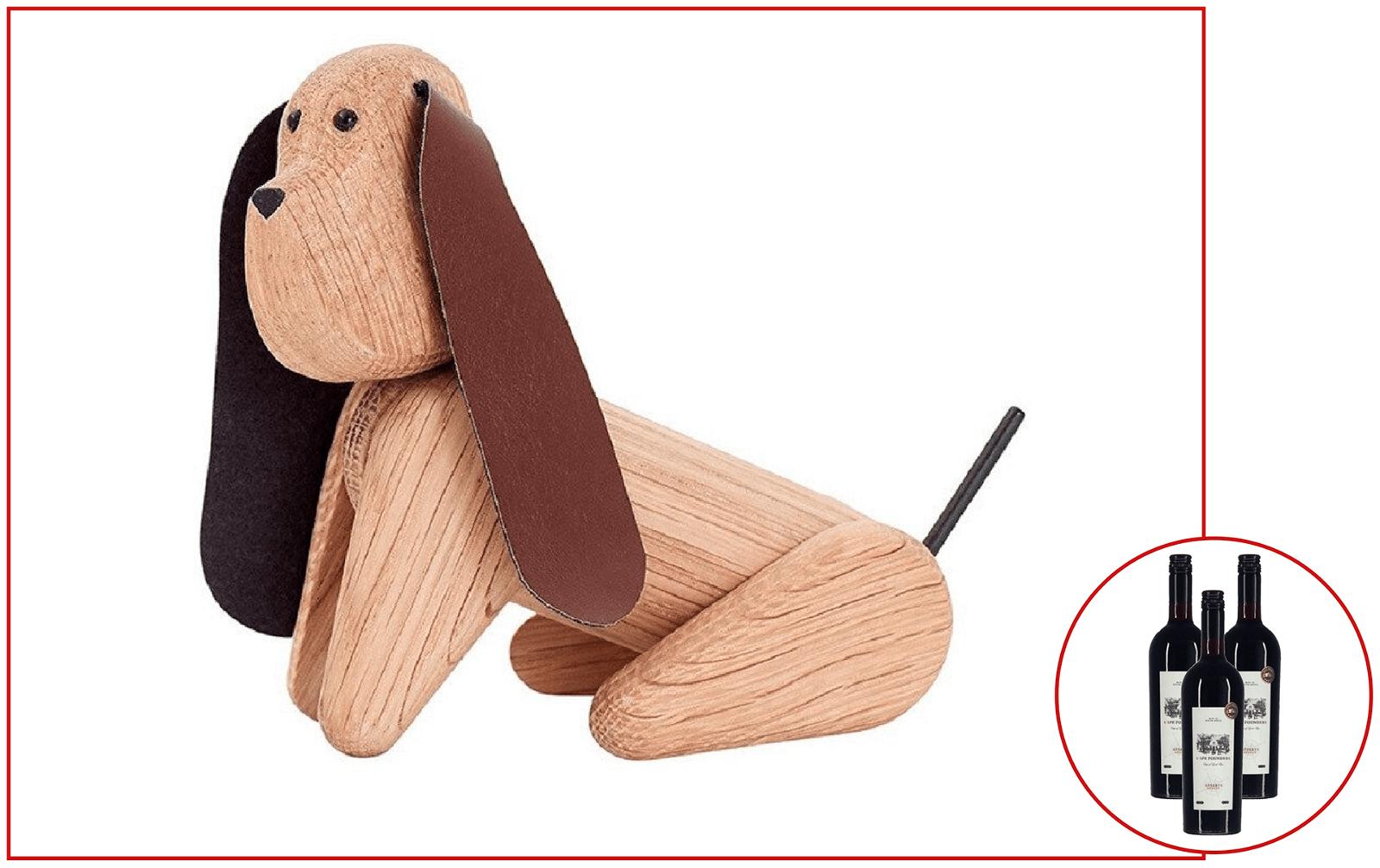 Andersen Furniture Hund + 3 fl. vin