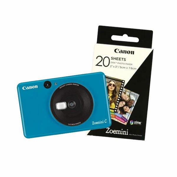 Canon Zoemini C - Seaside Blue inkl. papir