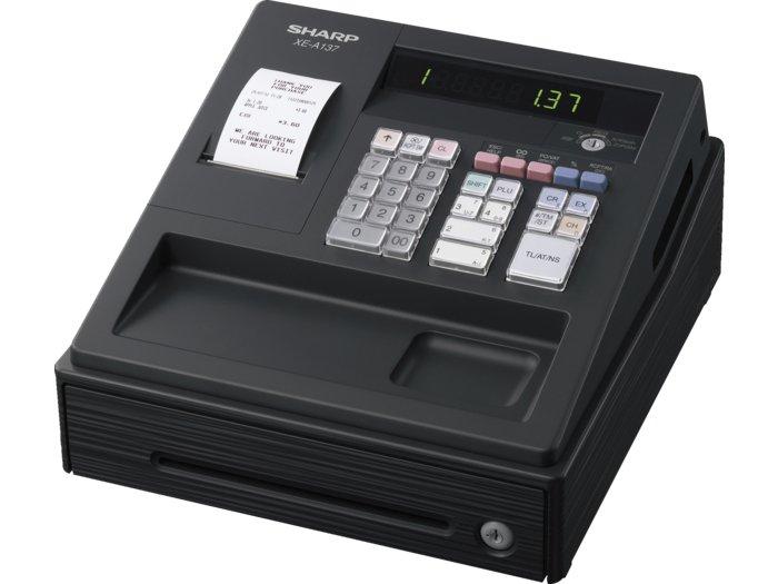 Sharp XE-A137BK kasseapparat