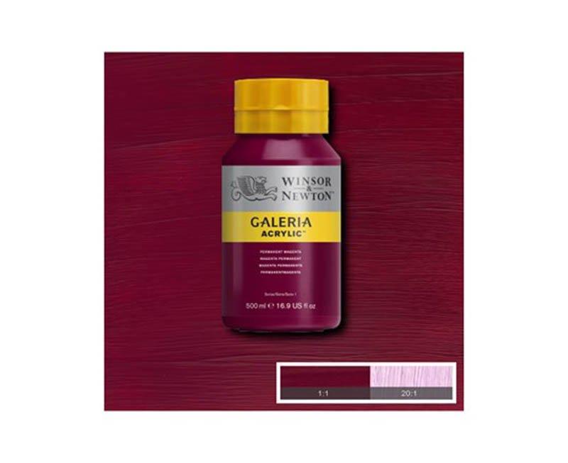 Galeria acryl 500 ml permanent magenta